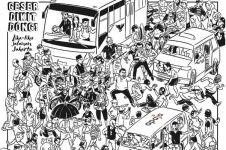 10 Komik gambarkan lika-liku jalanan Jakarta, duh sumpeknya!