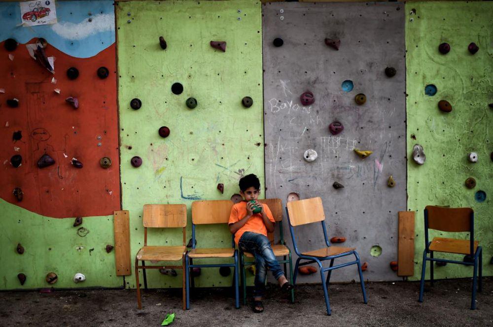 pengungsi di yunani © 2016 brilio.net