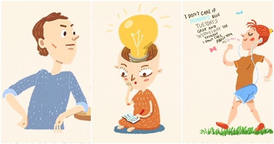 10 Ilustrasi ini tunjukkan tambah cerdas cuma butuh modal bersantai
