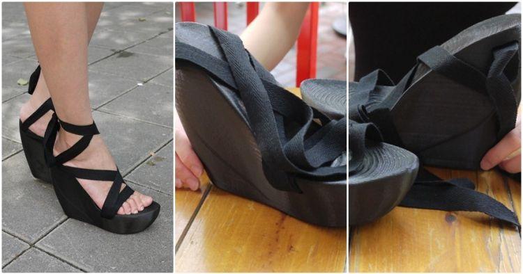 Kelihatan biasa, sepatu cewek ini punya fungsi canggih dan tak terduga