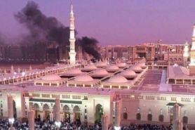 Foto-foto dan video ledakan bom di dekat Masjid Nabawi Madinah