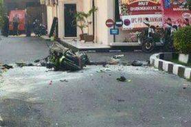 Bom bunuh diri di Mapolresta Solo, pelaku tewas