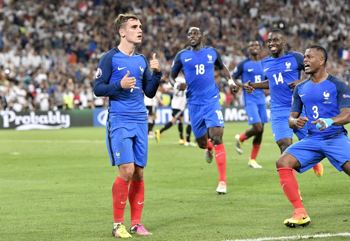 Ternyata ini rahasia selebrasi gol Antoine Griezmann di Euro 2016