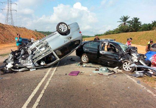 Pengantin baru ini meregang nyawa akibat kecelakaan lalu lintas