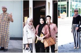 15 Gaya busana hits yang dipakai saat merayakan Idul Fitri 2016, wow!