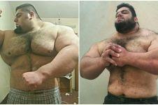 Pria ini dikenal sebagai Hulk dari Asia, 10 fotonya bikin melongo!