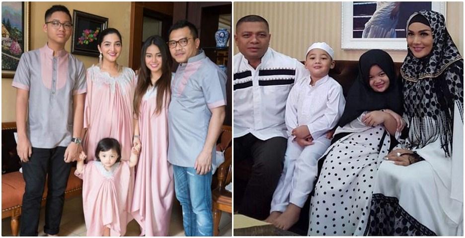 6 Foto perbedaan lebaran keluarga KD & Ashanty, mereka mudik nggak ya?