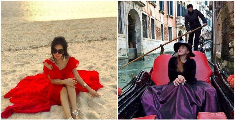 Heboh 5 foto gaya liburan Bella Shofie ke Eropa mirip Syahrini, wah!