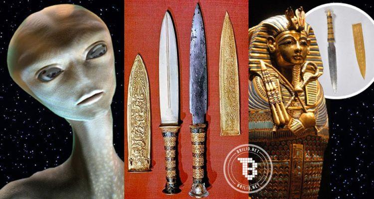 Fakta terbaru, pedang Firaun ternyata tak berasal dari bumi, kok bisa?