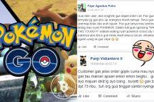 Curhatan lucu driver ojek online, diorder cuma buat cari Pokemon!