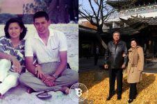 Dari muda hingga tua, ini 10 foto kemesraan SBY dan Bu Ani, so sweet!