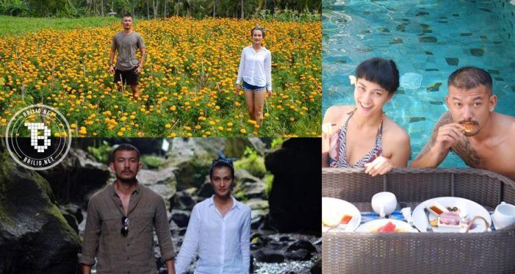 12 Foto romantisnya liburan Rio-Atiqah di Bali, bikin para jomblo iri