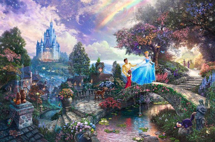 15 Lukisan grafis ala dunia Disney bikin takjub keren banget!