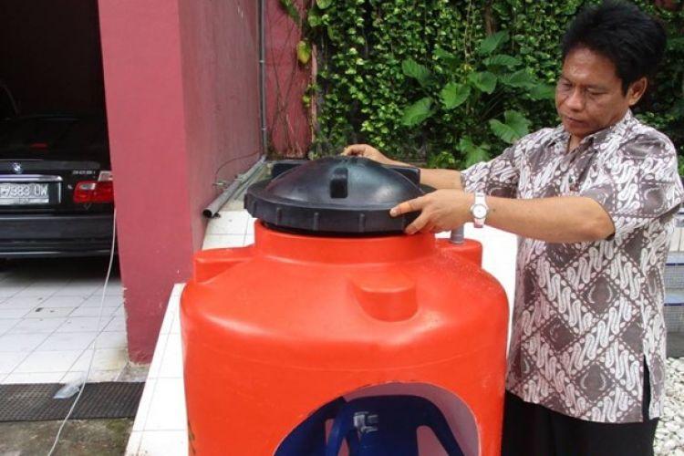 Gunakan penampung air, Budi ciptakan 'Bahtera Nuh' untuk tsunami