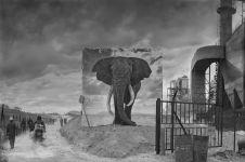 12 Foto ini gambarkan habitat satwa liar Afrika sudah hilang, miris!