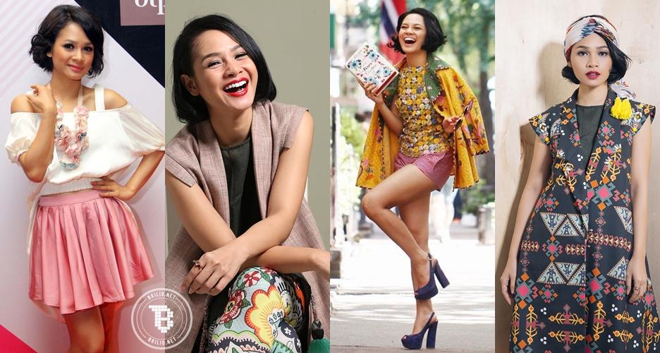 10 Gaya ala Andien Aisyah, selalu cantik dan melek banget sama fashion