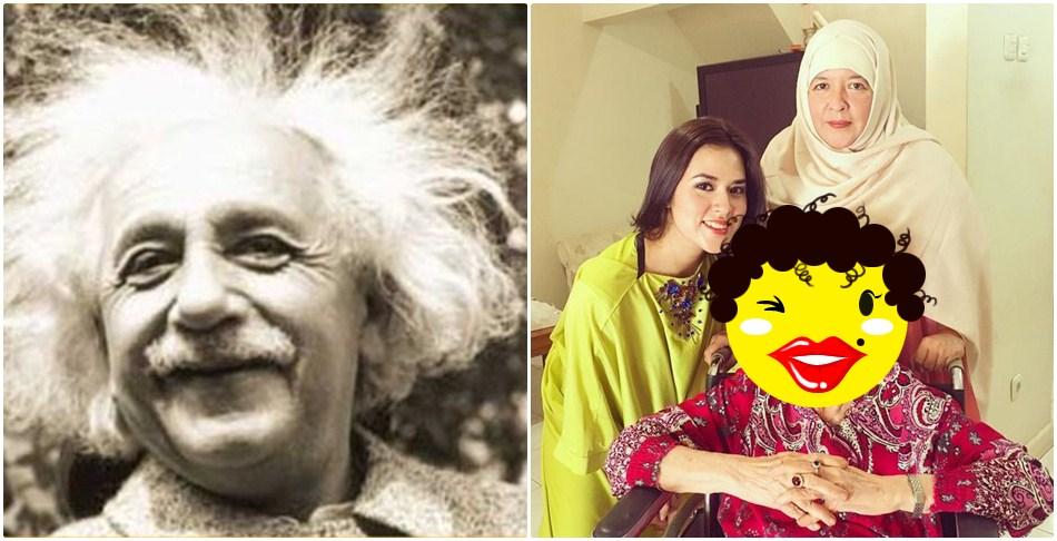 Seorang netizen sebut neneknya Raisa mirip Albert Einstein