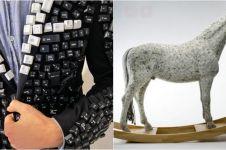 14 Benda ini dibuat dari keyboard bekas, wow ada yang jadi jas!
