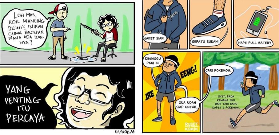 12 Komik seputar keseharian bikin ketawa sendiri, kocak dah!
