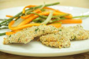 Mau makan sehat sehabis lebaran? Bikin ayam parmesan asparagus yuk!