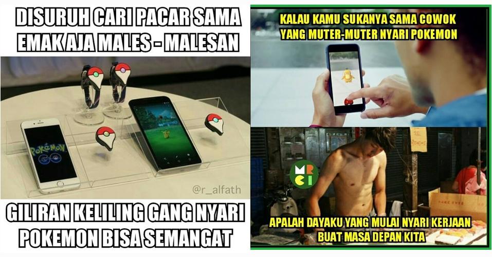 12 Meme lucu Pokemon Go ini sindir kamu yang belum punya jodoh