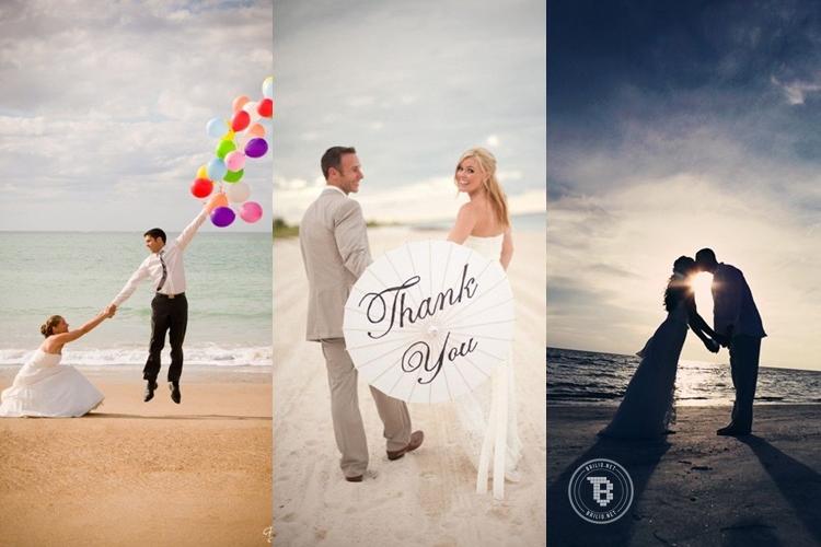 17 Foto prewedding romantis di pantai, awas jangan baper ya!