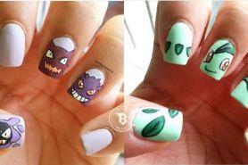 15 Inspirasi nail art bertema Pokemon, cocok buat para gamer!
