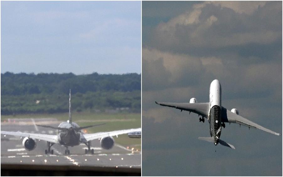Atraksi pesawat take-off vertikal ini bikin jantung deg-degan!