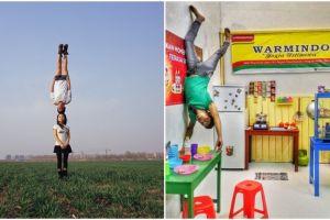 17 Pose foto melawan gravitasi ini bikin bingung sekaligus kagum!