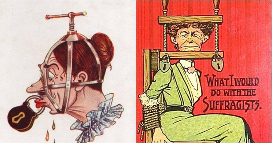 20 Kartu pos kuno ini tunjukkan mirisnya hak wanita zaman dulu