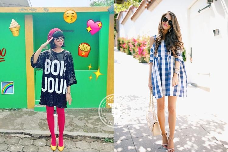 12 Inspirasi gaya kekinian dengan shirt dress, cobain yuk!