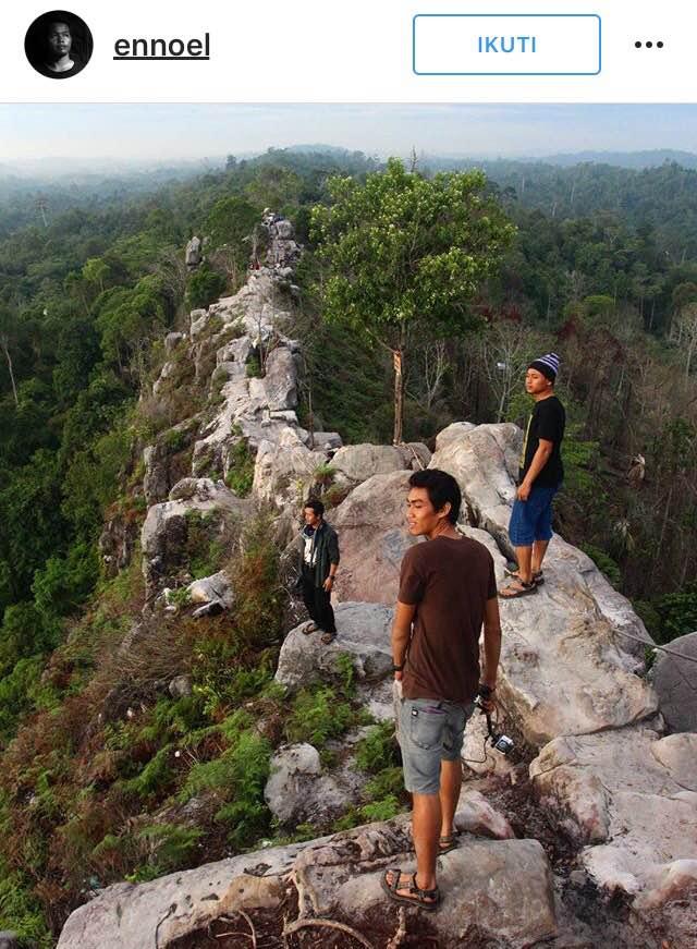 Batu Dinding Balikpapan Wisata Hits Yang Mirip Tembok Besar