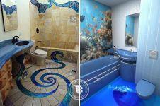 18 Keramik kamar mandi ini kece abis, bikin senyaman kamar tidur!