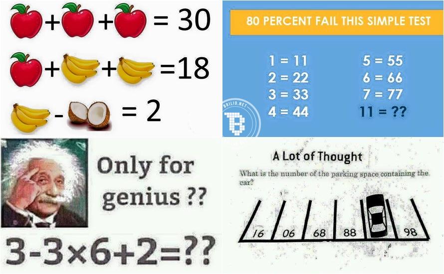 80% orang gagal menjawab 7 soal Matematika ini, kamu bisa nggak?