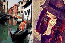 10 Foto keren editan aplikasi Prisma, hasilnya bak lukisan!