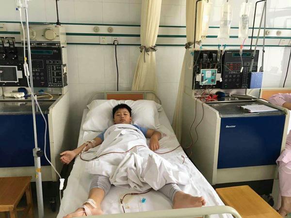Bocah 8 tahun ini donorkan sumsum tulang untuk ayahnya yang sakit