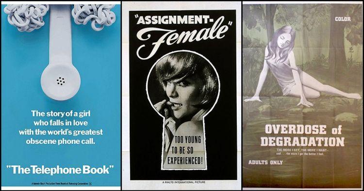 14 Poster film dewasa jadul ini bikin mikir dua kali, paham maksudnya?