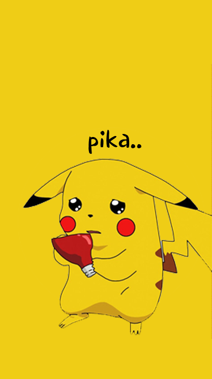 Lucu Wallpaper Gambar Pikachu Imut – WallpaperShit