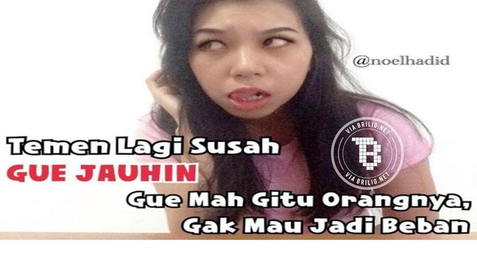 7 Meme 'Gue Jauhin' ini nyindir tapi bikin kamu senyum-senyum sendiri