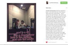 Lulus SMA, Aurel Hermansyah mau banting setir jadi DJ