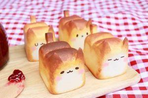Roti kucing ini bentuknya imut-imut, kamu tega gigitnya?