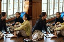Foto Dian Sastro saat proses reading film Kartini bikin heboh, kenapa?