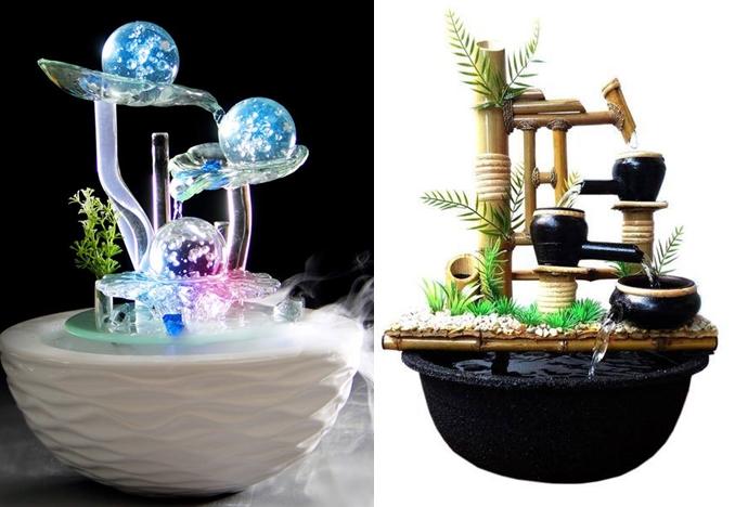 15 Desain air mancur mini dalam rumah, bikin otak makin seger deh!