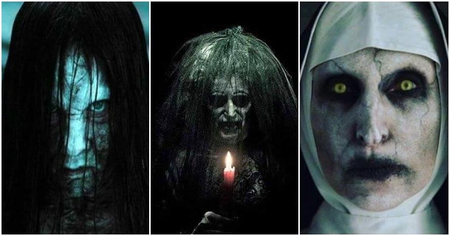 Ini wajah asli 14 karakter seram di film horor Hollywood