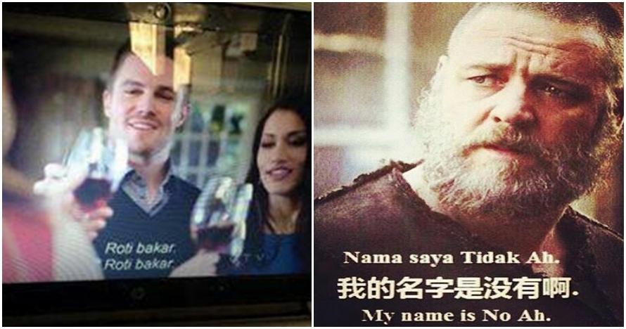 8 Foto terjemahan ngawur film ini bikin gagal paham