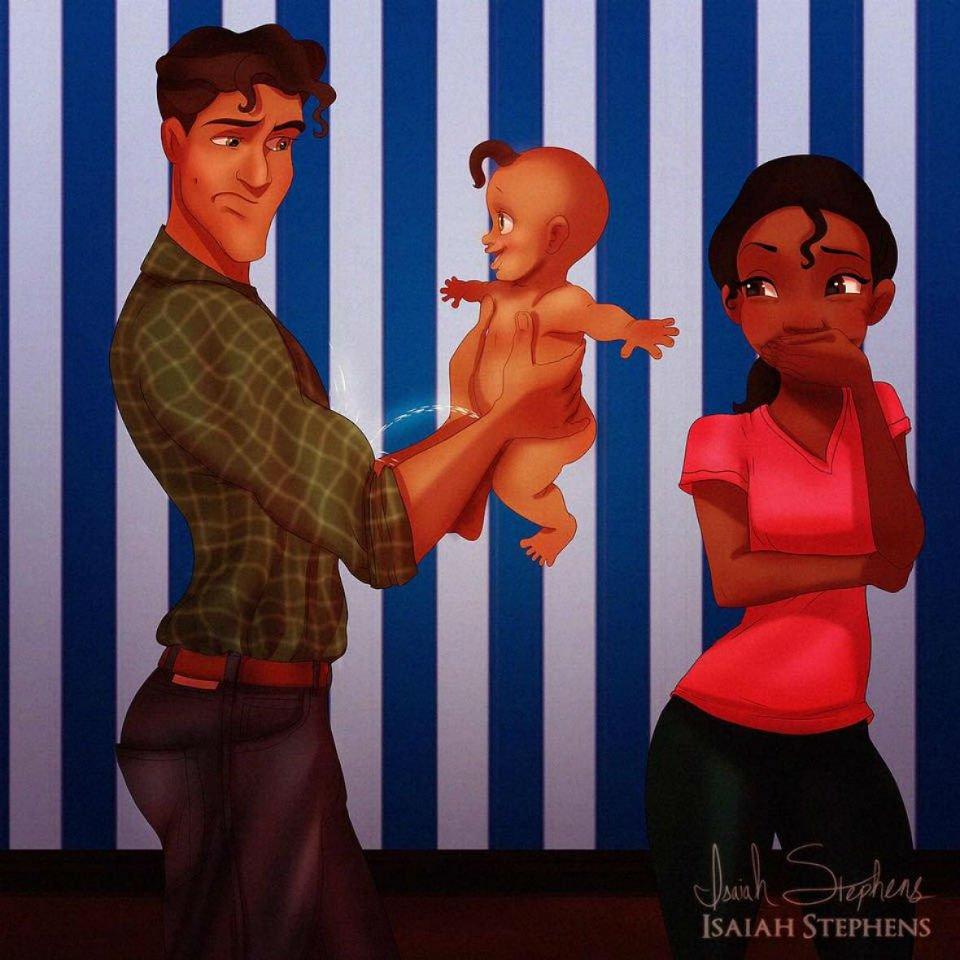Putri Disney jadi ibu © 2016 brilio.net