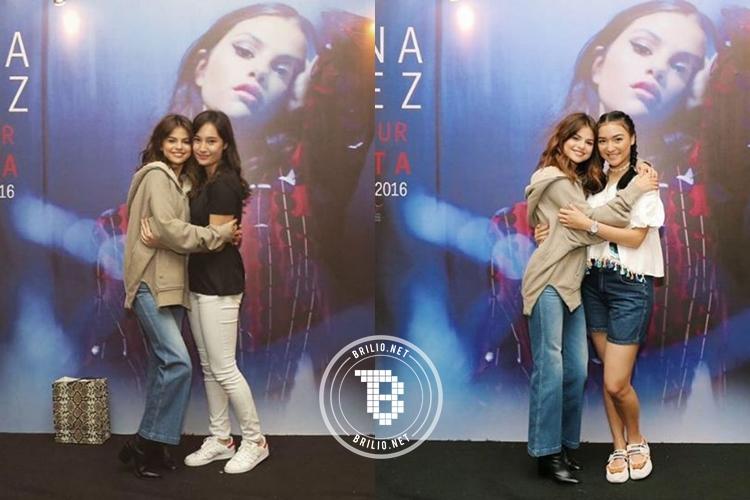 10 Foto keseruan artis Indonesia nonton konser Selena Gomez, pecah!