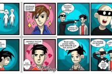 10 Komik strip gambarkan lika-liku jones ini kocak banget dah!