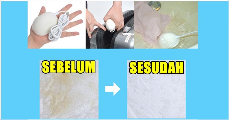 Dengan alat mungil ini, kamu bisa mencuci di mana saja tanpa deterjen