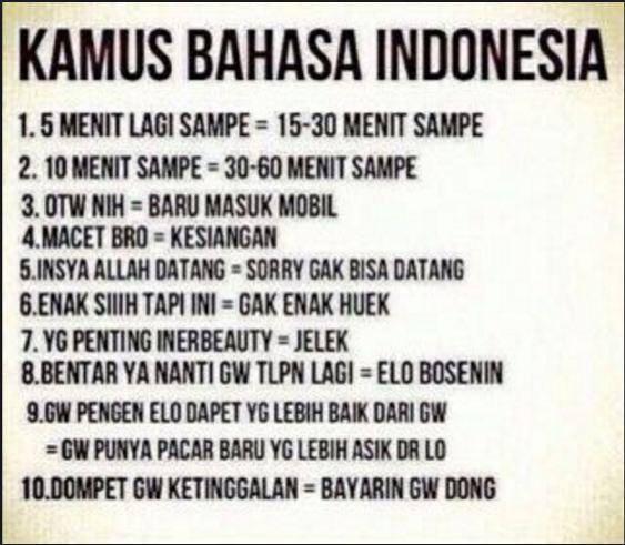 9 Meme Kocak Ini Tunjukkan Bahasa Indonesia Itu Istimewa